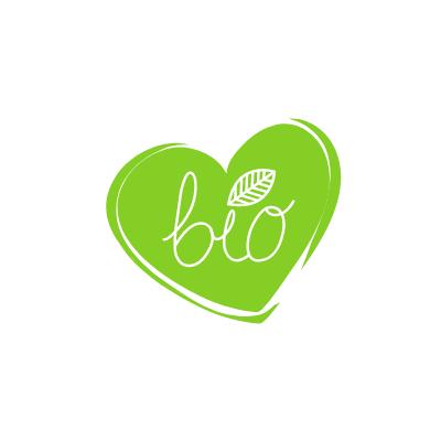 """Coeur vert écrit """"bio"""" deadans"""